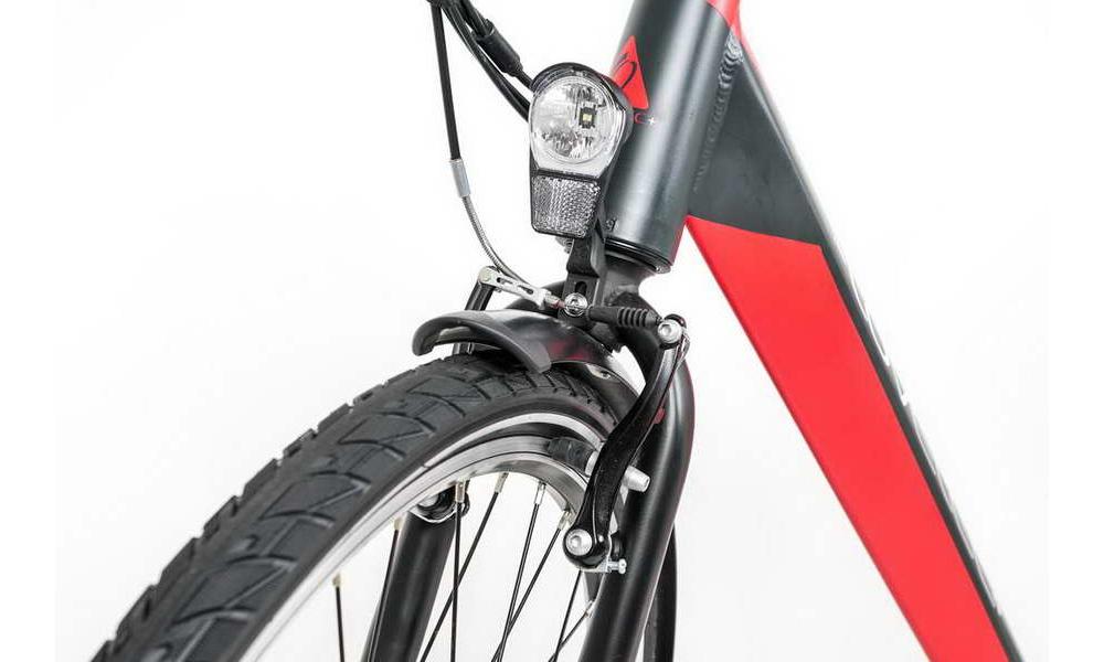 Miejski rower elektryczny LOVELEC Maia Black/Red