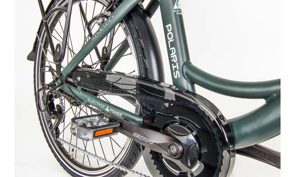 Miejski rower elektryczny LOVELEC Polaris Black/Mint