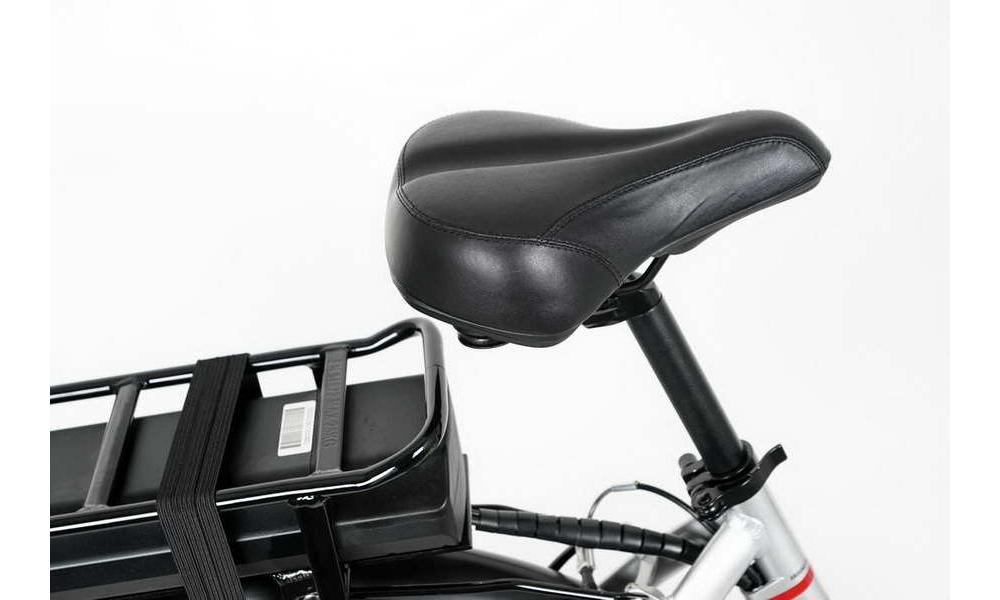 Miejski rower elektryczny LOVELEC Polaris Silver/Red