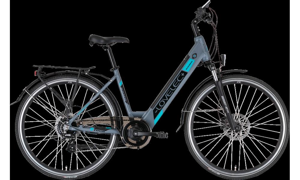 Trekkingowy rower elektryczny LOVELEC Komo Blue