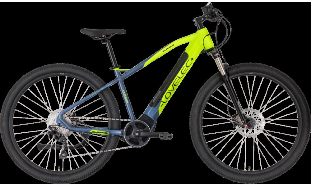 Górski rower elektryczny LOVELEC Naos Yellow (rama 19'')