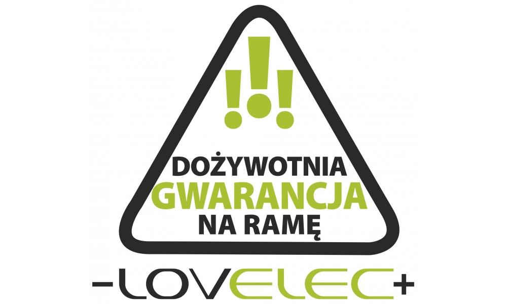 Rower elektryczny LOVELEC Flanders Cappuccino