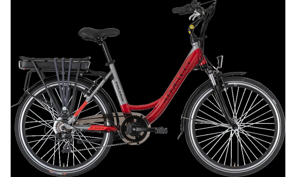 Miejski rower elektryczny LOVELEC Polaris Red/Grey
