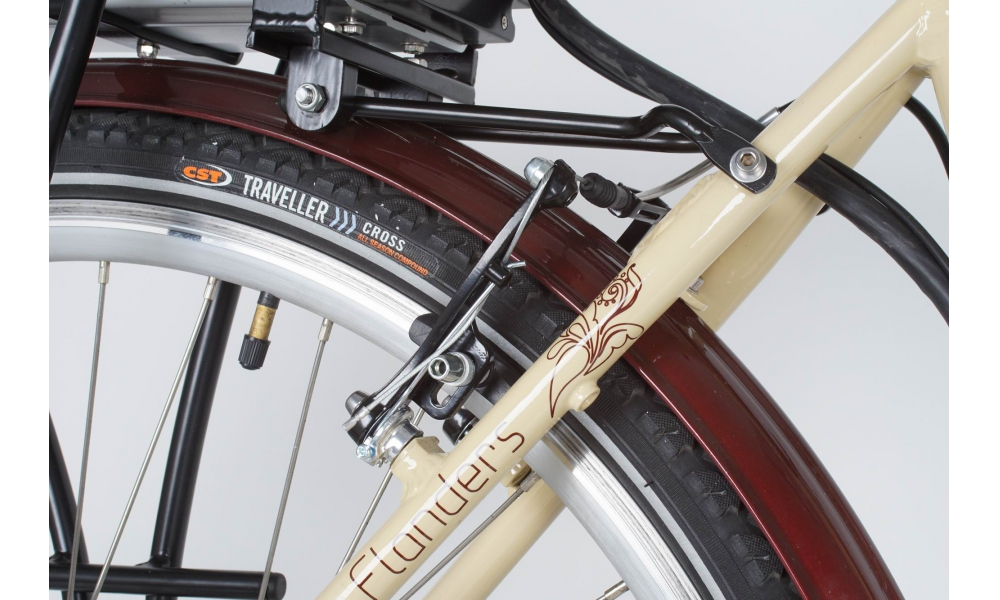 Aluminiowe hamulce Promax V brakes