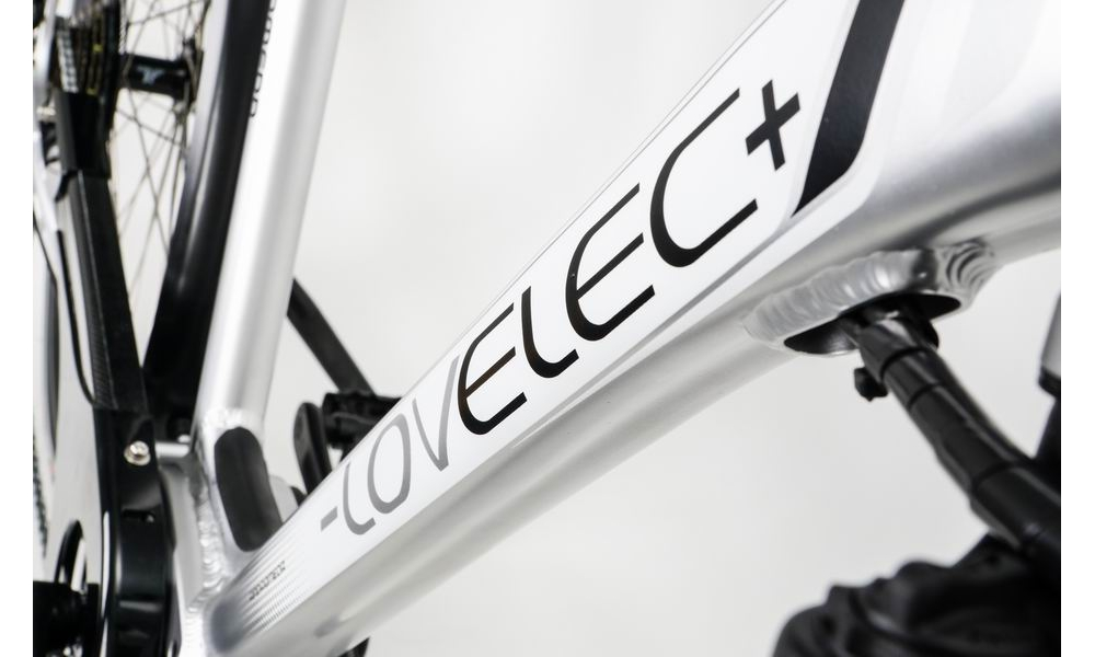 Kable prowadzone w ramie roweru