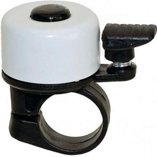 Dzwonek rowerowy biały