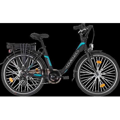 Miejski rower elektryczny LOVELEC Nardo Black/Blue