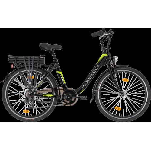 Miejski rower elektryczny LOVELEC Nardo Black/Green