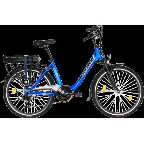 Miejski rower elektryczny LOVELEC Norma Blue