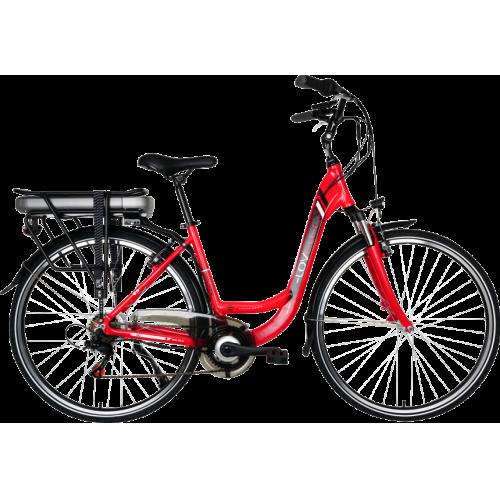 Rower elektryczny LOVELEC Galaxy Red black
