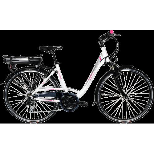 Rower elektryczny LOVELEC Atria violet